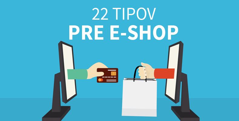 Tipy a odporúčania pre e-shop.