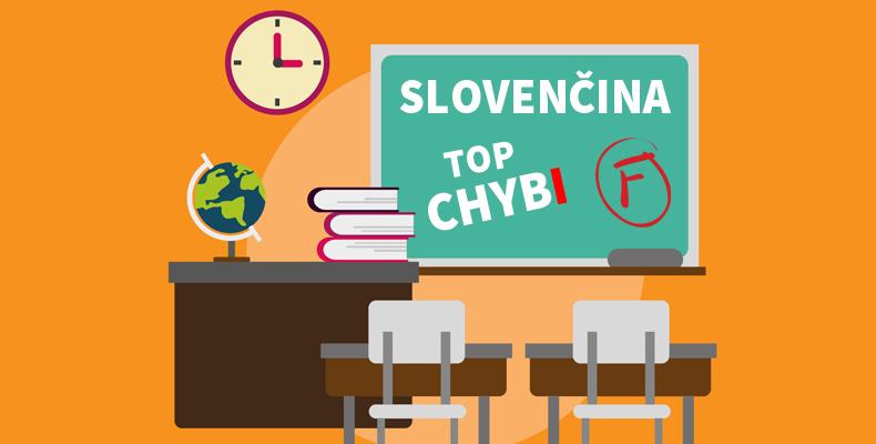 Najčastejšie chyby v slovenčine
