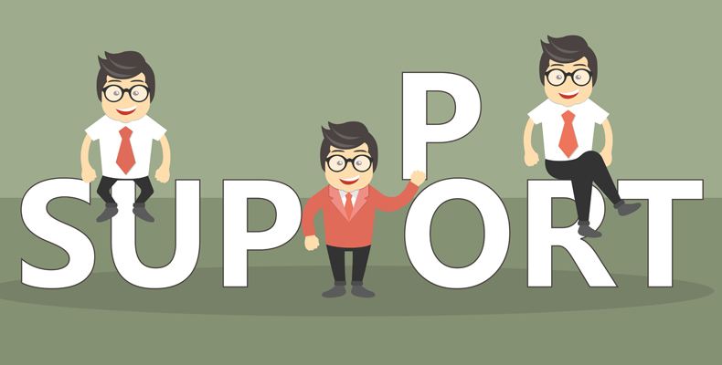 Online zákaznícka podpora.