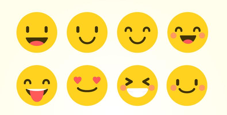 Emoticony a smajlíky v predmete emailu..