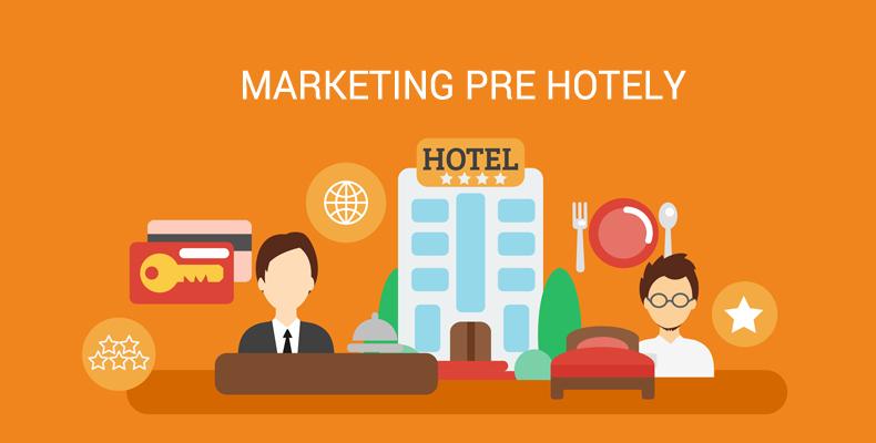 Marketing pre hotely, ktoré chcú cez internet viac predávať.
